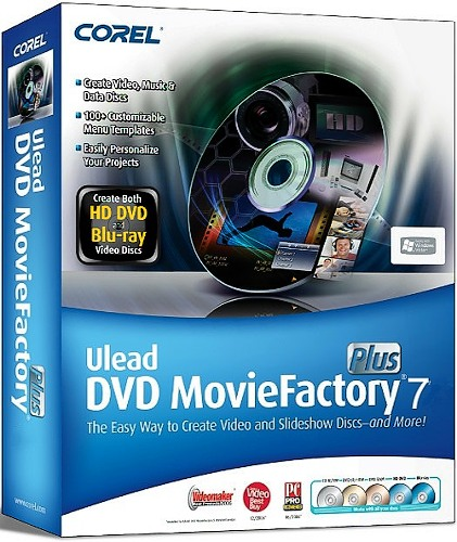 Corel DVD MovieFactory Pro 7.00.398 RePack / Portable Rus