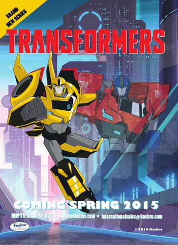 ������������: ������� ������ / Transformers: Robots in Disguise (2015) WEB-DL
