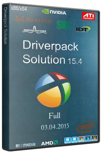DriverPack Solution 15.4 Full (2015)