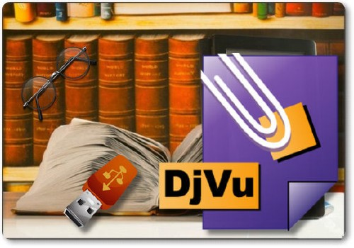 DjVuLibre DjView 4.10.4 Ml/Rus Portable