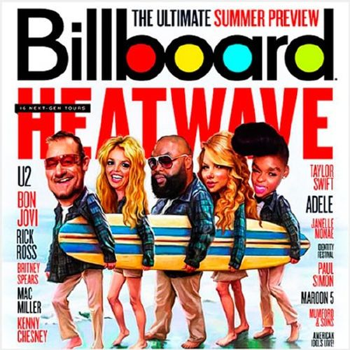 Billboard Hot 100 Singles Chart 25.04.2015 (2015)