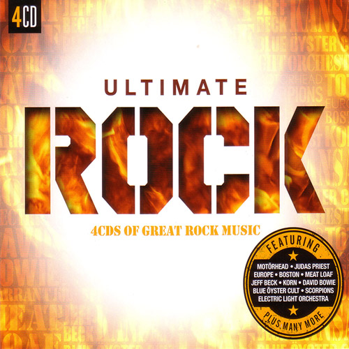 Great Rock music - the ultimate 4 CD (2015)