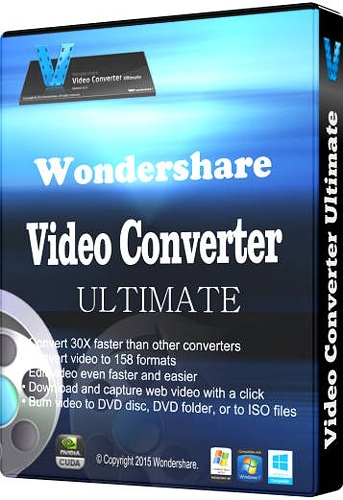 Wondershare Video Converter Ultimate 8.1.3.0 Multilanguage Portable
