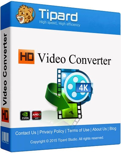 Tipard HD Video Converter 7.2.6 Portable by poststrel (RUS / ML)