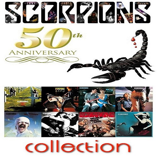 Scorpions - 50th Anniversary Deluxe Collection (2015)