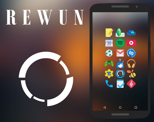 Rewun Icon Pack 2.9.0 (2015/Android)