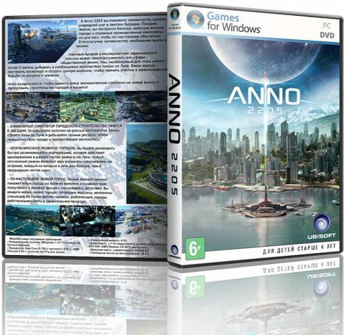 Anno 2205: Gold Edition (2015/RUS/ENG/Milti)