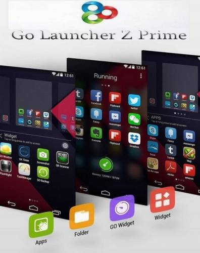 GO Launcher Z Prime VIP v1.141 (2015/RUS/Android)