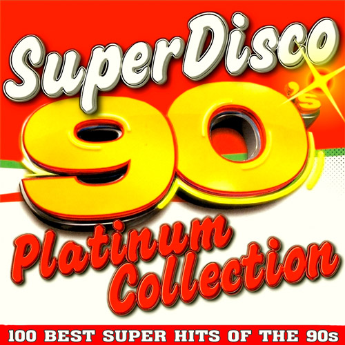 Super Disco 90s.100 Hits Platinum Collection. ��������� (2015)