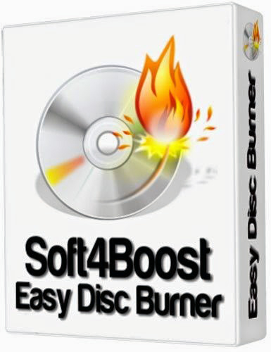 Soft4Boost Easy Disc Burner 4.9.3.417 Portable