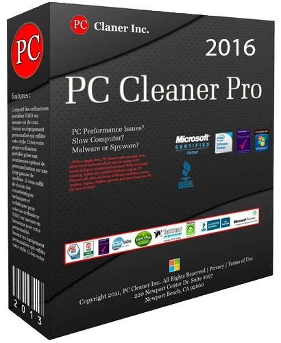 PC Cleaner Pro 2016 14.0.16.1.11 (Ml/Rus/2016) Portable