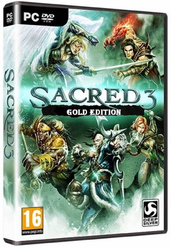 Sacred 3: The Gold Edition (2014/RUS/ENG/License/PC)