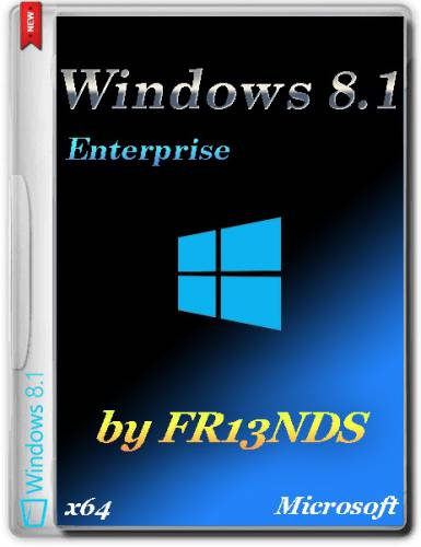 Windows 8.1 Enterprise (x64) v.6.3.9600 (2016/RUS/by Fr13nds)