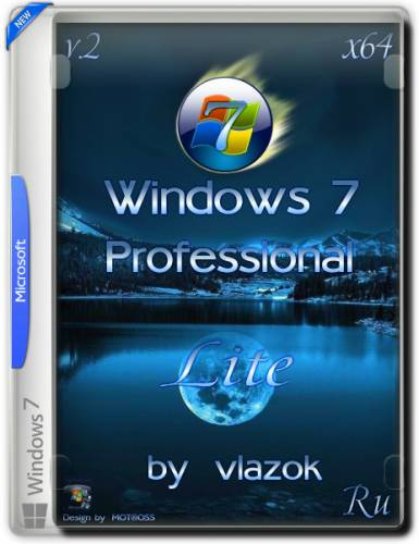 Windows 7 Professional (x64) vl Lite v.2 (2016/RUS/by Vlazok)
