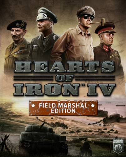 Hearts of Iron IV. Field Marshal Edition (2016/RUS/ENG/Repack)