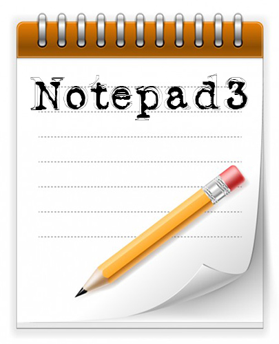 Notepad3 1.0.2.350 + Portable (ENG) 2016