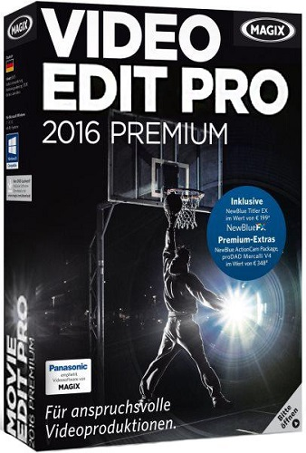 MAGIX Movie Edit Pro 2016 Premium 15.0.0.102 + Content (2016/RUS/ENG)