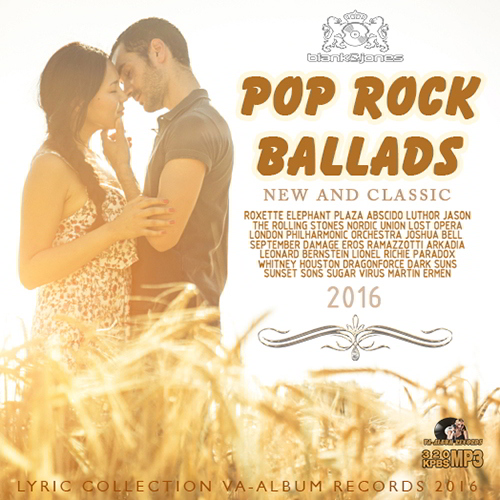 Pop Rock Ballads: New And Classic (2016)