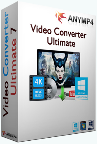 AnyMP4 Video Converter Ultimate 7.0.36 RePack (& Portable) by TryRooM