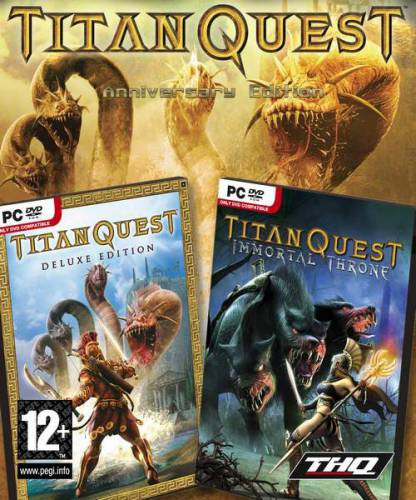 Titan Quest Anniversary Edition (2016/RUS/ENG/License)