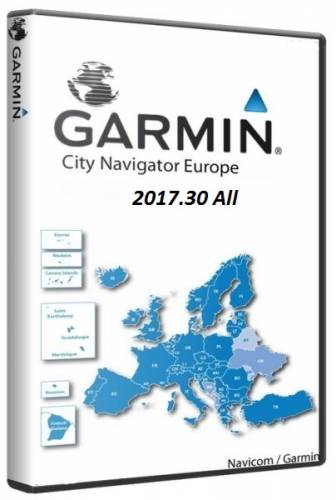 City Navigator Europe NT Unicode 2017.30 2016