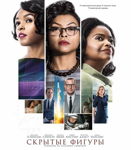 Скрытые фигуры / Hidden Figures (2016) BDRip/720p/HDRip