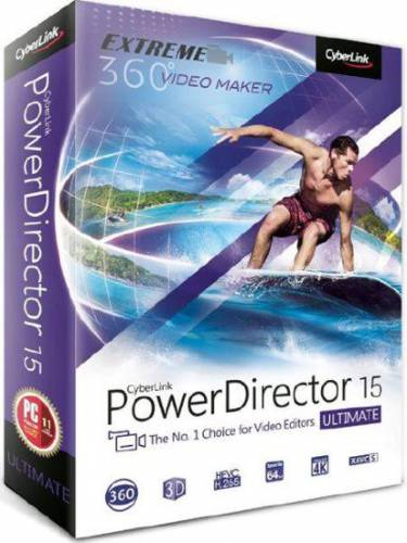 CyberLink PowerDirector Ultimate 15.0.2820.0 + Rus