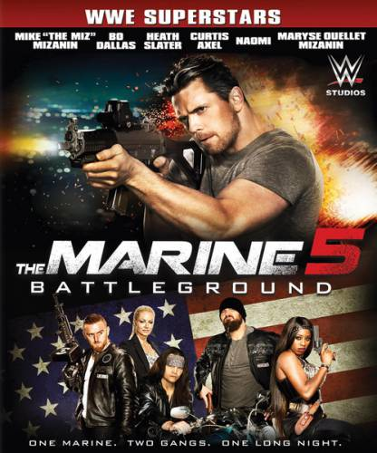 Морпех 5: Поле битвы / The Marine 5: Battleground (2017) WEB-DL/720p/WEB-DLRip