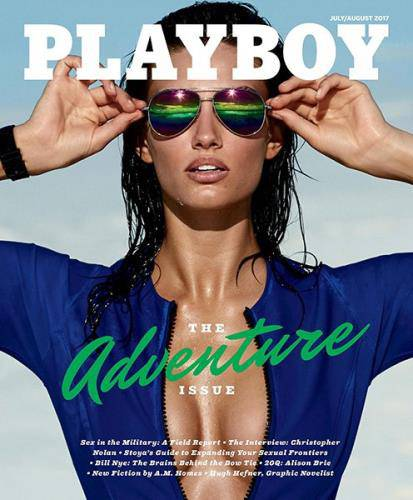 Playboy №7-8 (July-August 2017) USA