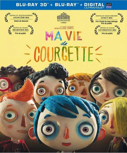 Жизнь кабачка / Ma vie de Courgette (2016) BDRip/720p/1080p/HDRip