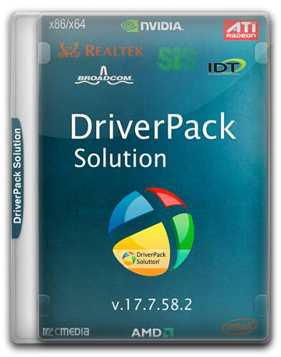 DriverPack Solution 17.7.58.2 Offline(x86/x64/2016/RUS/ML)