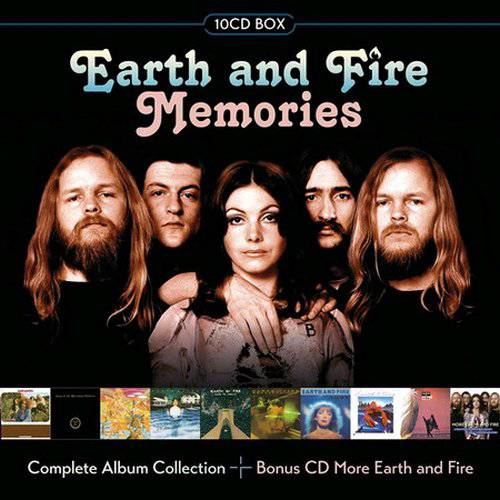 Earth And Fire ‎– Memories (10CD Box Set) (2017)