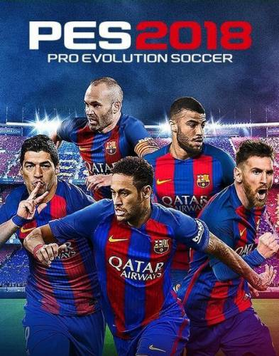 PES 2018 / Pro Evolution Soccer 2018: FC Barcelona Edition (2017/RUS/ENG/RePack)
