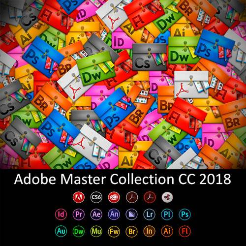 Adobe Master Collection CC 2018 v.4 by m0nkrus
