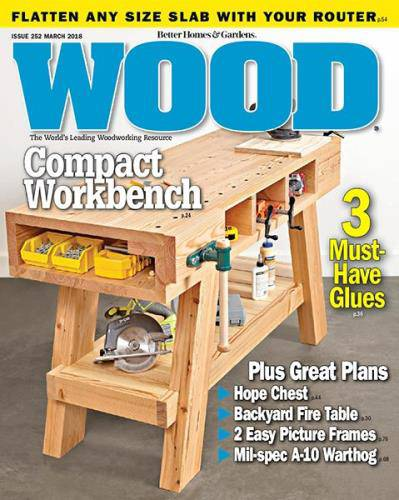 Wood Magazine №252 (March 2018)