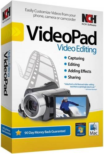 NCH Videopad Professional 6.10 (ML/RUS) Portable
