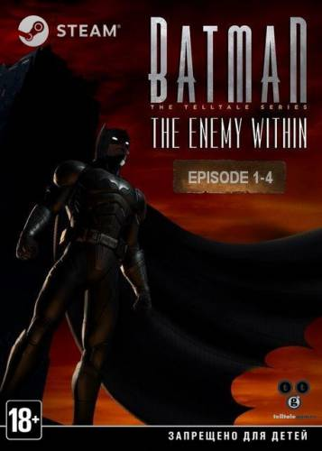 Batman: The Enemy Within - Episode 1-4 (2017-2018/RUS/ENG/MULTi9)