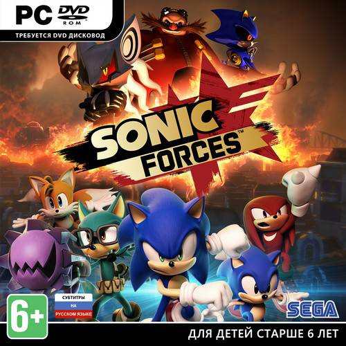 Sonic Forces (2017/RUS/ENG/MULTi11/RePack)