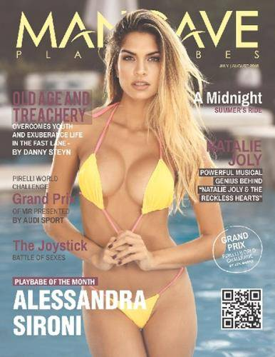 Mancave Playbabes - July-August 2018
