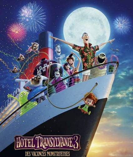 Монстры на каникулах 3: Море зовёт / Hotel Transylvania 3: Summer Vacation (2018/TS)