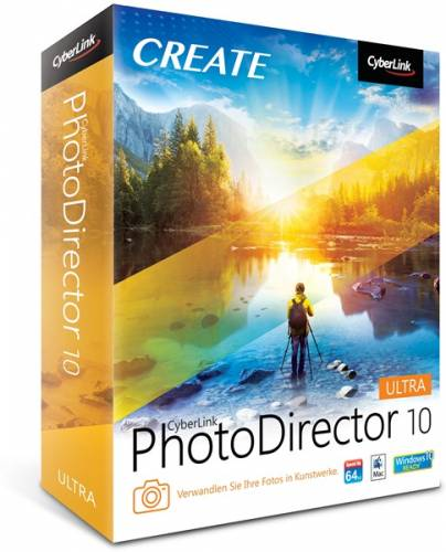 CyberLink PhotoDirector Ultra 10.0.2103.0 + Rus