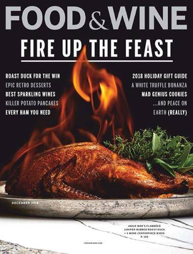 Food & Wine USA - December 2018