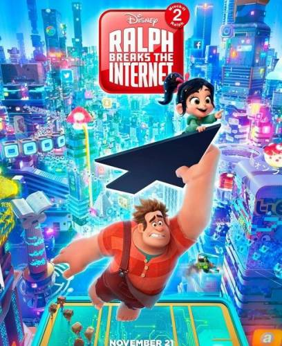 Ральф против интернета / Ralph Breaks the Internet (2018/TS)