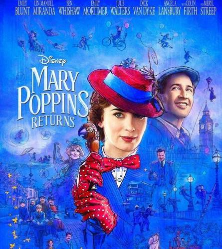 Мэри Поппинс возвращается / Mary Poppins Returns (2018/TS)