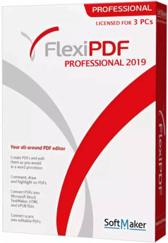 SoftMaker FlexiPDF 2019 Professional 2.0.1 Portable