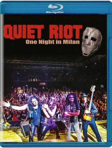 Quiet Riot - One Night in Milan (2019, Blu-ray)