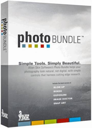 Alien Skin Software Photo Bundle Collection 03.2019 (2019/ENG)