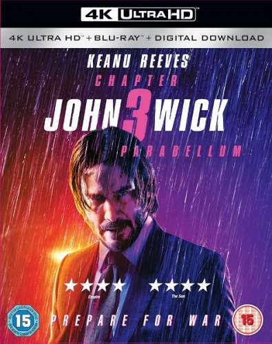 Джон Уик 3 / John Wick: Chapter 3 - Parabellum (2019/BDRip/HDRip)