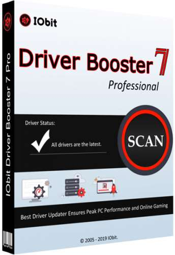IObit Driver Booster Pro 7.4.0.721 Final