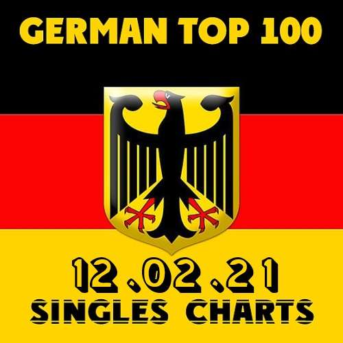German Top 100 Single Charts 12.02.2021 (2021)